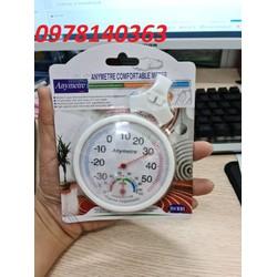 Nhiệt ẩm kế đo nhiệt độ độ ẩm trong phòng Anymetre TH 108