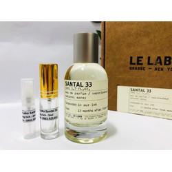 [Chiết 2,5,10ml] Nước hoa Le Labo Santal 33