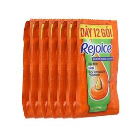 Dầu xả Rejoice siêu mềm mượt (6ml x 12 gói) - 272
