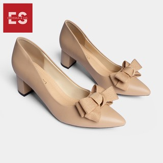Giày cao gót Erosska thời trang mu i nho n đi nh nơ điê u đa kiê u da ng cơ ba n cao 5cm EP005 - EP005 thumbnail