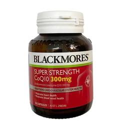 Viên Uống Hỗ Trợ Tim Mạch Blackmores CoQ10 Super Strength 300mg -30 VIÊN