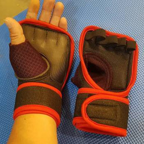 Găng tay thể thao tập gym dán cổ tay - Găng tay thể thao tập gym dán cổ tay