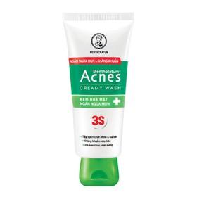 Sữa Rửa Mặt Acnes Creamy Wash Ngừa Mụn - 242
