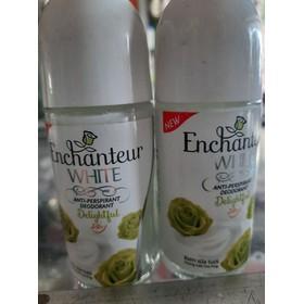 lăn khử mùi enchanteur màu xanh - lăn sữa màu xanh