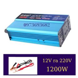 Bộ đổi nguồn INVERTER 12V ra 220V - 1200W