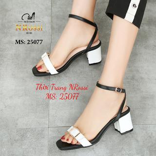 [size ngoại cỡ] Giày cao gót nữ big size 42 43 44 NRossi 25077 - NRossi 25077 thumbnail