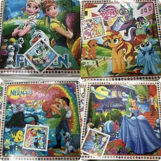 Combo 4 tranh ghép hình giấy cho bé - T455 thumbnail