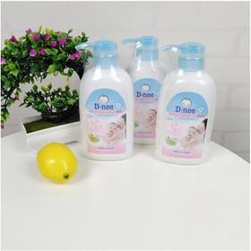 Nước rửa bình sữa và rau củ quả Dnee dạng chai 500ml - Thái Lan - dneerua