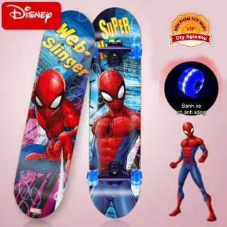 Siêu ván trượt trẻ em cao cấp USA bánh xe ánh sáng Dispney Spiderman - Người nhện - Seagd811 thumbnail