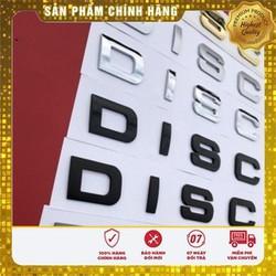 Bộ tem chữ nổi 3D DISCOVERY 5 màu sang trọng trang trí xe hơi ô tô - Đồ Chơi Xe Hơi Chất Lượng