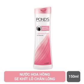 Nước hoa hồng se khít lỗ chân lông Pond's White Beauty (150ml) - 302