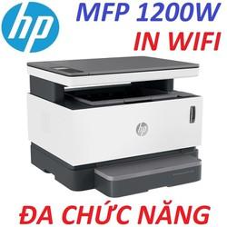 Hàng chính hãng. Máy in Laser đa chức năng WIFI HP Neverstop Laser MFP 1200W (4RY26A). HP MFP 1200W.