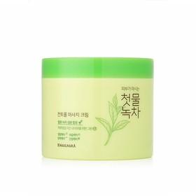 Kem massage trà xanh thảo dược Welcos Green Tea Control Hàn Quốc 300g - Kem massage trà xanh thảo dược Welcos