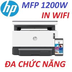 Máy in HP WIFI Neverstop Laser MFP 1200W (4RY26A). Hàng Nhập Khẩu.