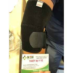 Băng thun khuỷu tay co giãn đai hỗ trợ cố định khuỷu tay trái phải ORBE SIZE S M L - orbe khuỷu