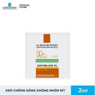 Sample Kem chống nắng giúp kiểm soát bóng nhờn & bảo vệ da trước tia UVB UVA SPF 50+ La Roche-Posay - lrpcndd 1