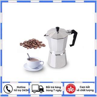 Bình pha cà phê kiểu ý thế hệ mới - Bình pha cà phê moka thumbnail
