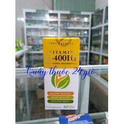 Vitamin E 400 IU Nhập Khẩu Chính Hãng Séc