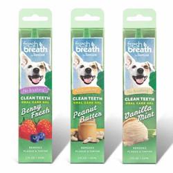 Gel làm sạch răng miệng có vị Tropiclean dành cho chó