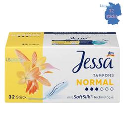 Băng vệ sinh  Tampon Loại Thường hiệu Jessa 32 sticks
