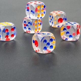 Bộ 5 viên Xí ngầu trong suốt - WINWINSHOP88 - Bộ 5 viên Xí ngầu trong suốt thumbnail