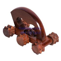 Bàn lăn gỗ massage đa năng gỗ thiên nhiên cao cấp