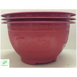 3 Chậu Nhựa Trồng Hoa, Cây Cảnh Hoa Việt TT330-170