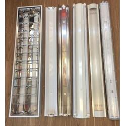 COMBO 05 Máng đèn chống thấm,chống ẩm 02 bóng 1.2m