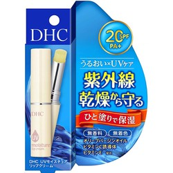 Son Dưỡng DHC UV Moisture Lip Cream SPF20 PA+ Nhật Bản