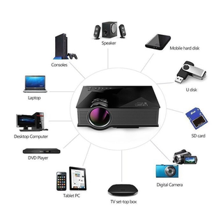 Máy chiếu mini SMP UC46 100 inch hỗ trợ WIFI Micracast có loa ngoài - MCMN527273242 thumbnail