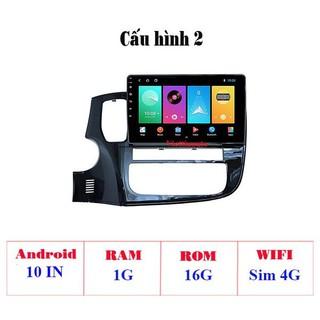 Màn hình Android 9 Inch theo Xe Mitsubishi Pajero Sport 2013-2018 có GPS dẫn đường, điều khiển ra lệnh bằng giọng nói ( RAM 1G, ROM 16G, Wifi + 4G ) - HL 4202- C2 thumbnail