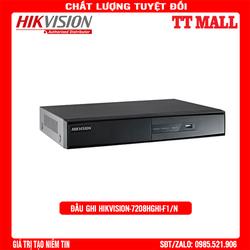 Đầu ghi HIKVISION DS-7208HGHI-F1/N HD CHÍNH HÃNG BẢO HÀNH 2 NĂM - HIKVISION DS-7208HGHI-F1/N