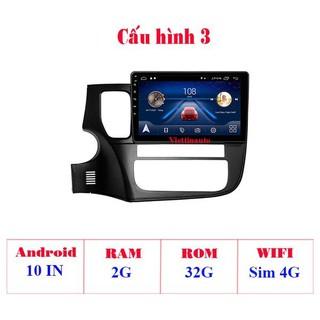 Màn hình Android 9 Inch theo Xe Mitsubishi Pajero Sport 2013-2018 có GPS dẫn đường, điều khiển ra lệnh bằng giọng nói ( RAM 2G, ROM 32G, Wifi + 4G ) - HL 4202- C3 thumbnail