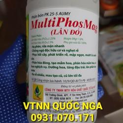 Phân bón lá LÂN ĐỎ - MultiPhosMag - Hạ phèn, chống độc hữu cơ