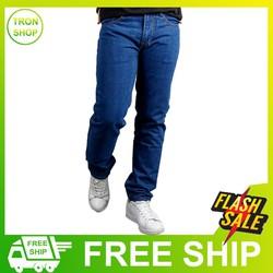 Quần jean nam vải đẹp form chuẩn không phai màu ĐƯỢC KIỂM HÀNG TS63 Tronshop