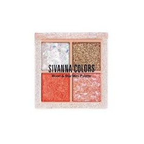 Phấn mắt nhũ kim tuyến Sivanna Colors Moon Star Mini Palette HF6040 - Phấn mắt nhũ kim tuyến Sivanna Colors Moon