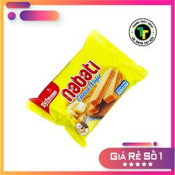 Bánh xốp phô mai hiệu Nabati càng ăn càng nghiện gói 58g