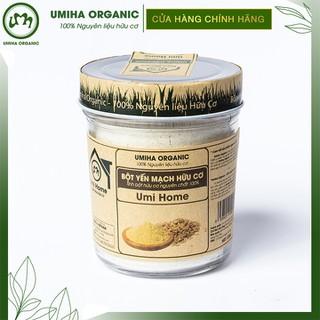 Bột Yến Mạch hữu cơ Umihome 125g nguyên chất - Bột yến mạch thumbnail