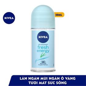 Lăn ngăn mùi NIVEA Fresh Energy tươi mát sức sống (50ml) - Lăn ngăn mùi NIVEA Fresh Energy tươi mát sức