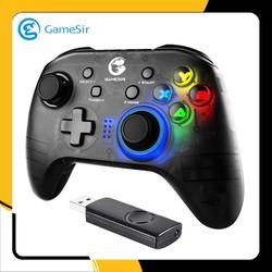 Tay cầm chơi game cho PC Gamesir T4 - Đi kèm USB Wireless 2.4Ghz