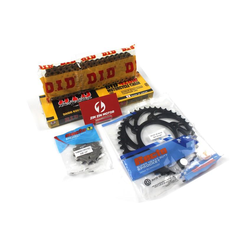 Bộ Nhông Sên Dĩa Recto Cho Exciter 150 – Zin Zin Motor – NSDRECTOEX150