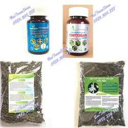 Combo 4 sản phẩm phân bón hữu cơ vi sinh chăm sóc hoa phong lan của Kiên Trần.