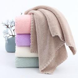 [Hỗ trợ ship]Khăn tắm lông tuyết Hàn Quốc 140x70cm nặng tới 320gr