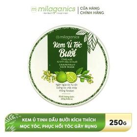 Kem ủ chăm sóc tóc Bưởi MILAGANICS 250g - 8936089075184