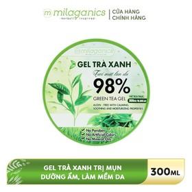 Gel dưỡng da Trà xanh MILAGANICS 300ml - 8936089074118