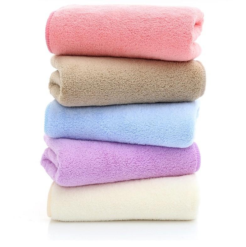 Khăn tắm lông tuyết Hàn Quốc 140x70cm nặng tới 320gr