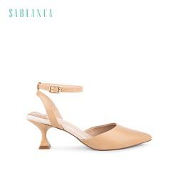 Giày sandal cao gót đế đồng hồ cát - Sablanca 5050SN0100