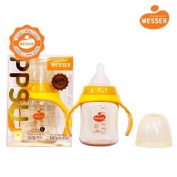 Bình Sữa Wesser PPSU 180ml (CỔ RỘNG) - TBSWPP180
