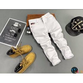 Quần jean dài bé trai, quần jean mộc siêu ngầu bé trai cỡ lớn - DO200701-01