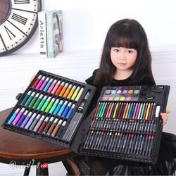 Hộp màu 150 chi tiết cho bé yêu-Bộ bút chì màu cho bé